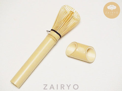 [ZAIRYO Exclusive] Matcha Long Stem Tea Whisk / 抹茶长柄せん