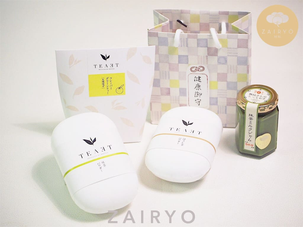 [Zairyo Exclusive] Omamori Tea Gift Set - Snacks
