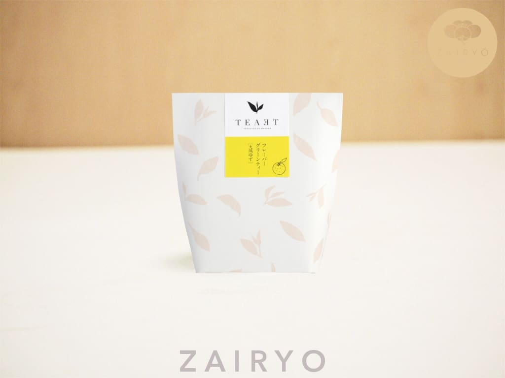 [Zairyo Exclusive] Teaet Osumi Yuzu Green Tea Bags - Tea