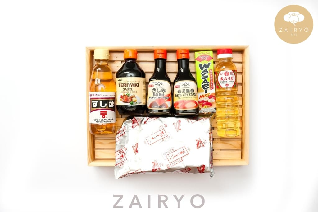 Zairyo Pantry Basics Pack / Zairyo Essentials Kit Sets
