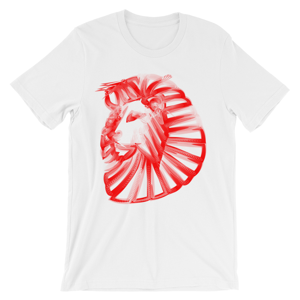 Unisex Fire Lion T-Shirt