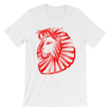 Mens Fire Lion T-Shirt