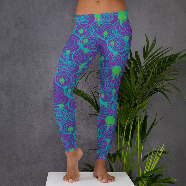 Vortex All-Over Print Leggings