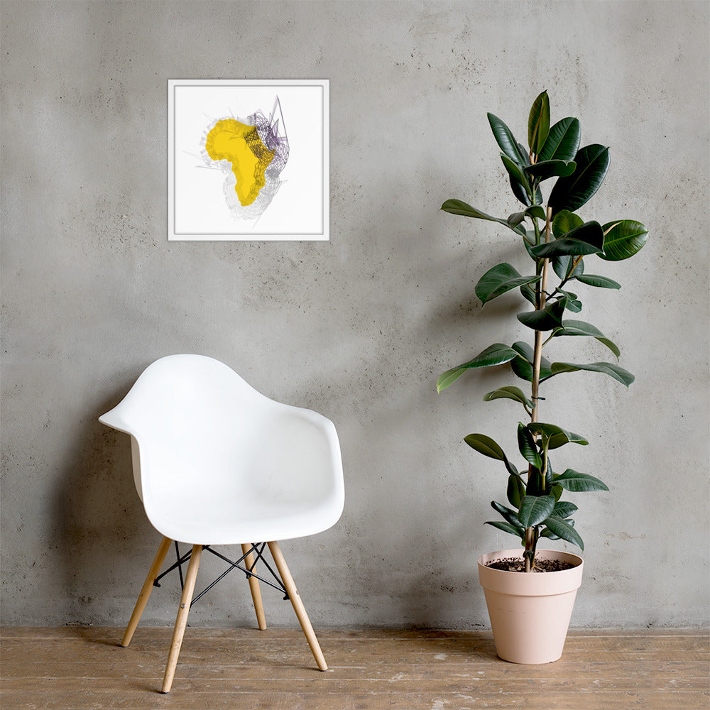New Africa Framed