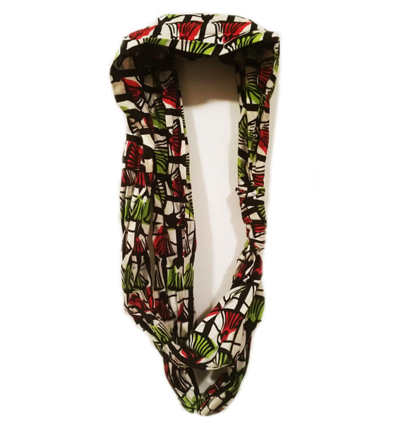 Wild Flower Double Knot Infinity Scarf