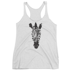 Women's Night Zebra Tank