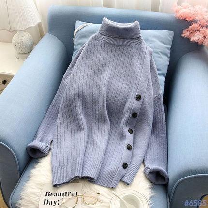 #6585 KNIT SWEATER Tops
