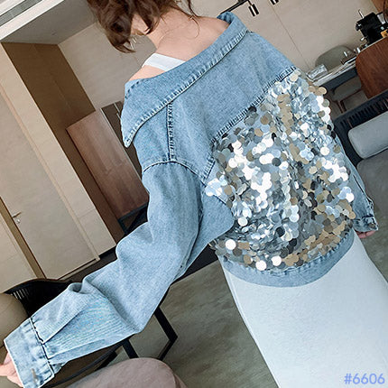 #6606 DENIM JACKET