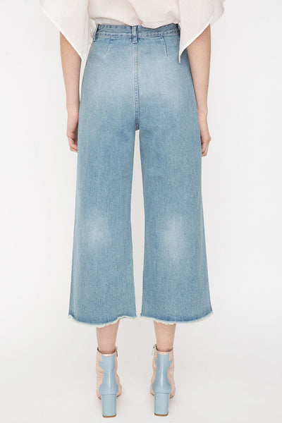 Mina Cropped Denim Jeans