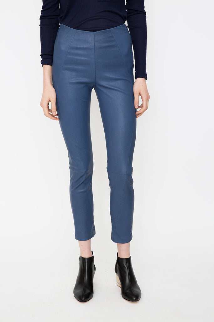 Adira Leather Trouser