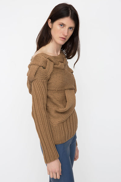 Ivory Cotton Sweater