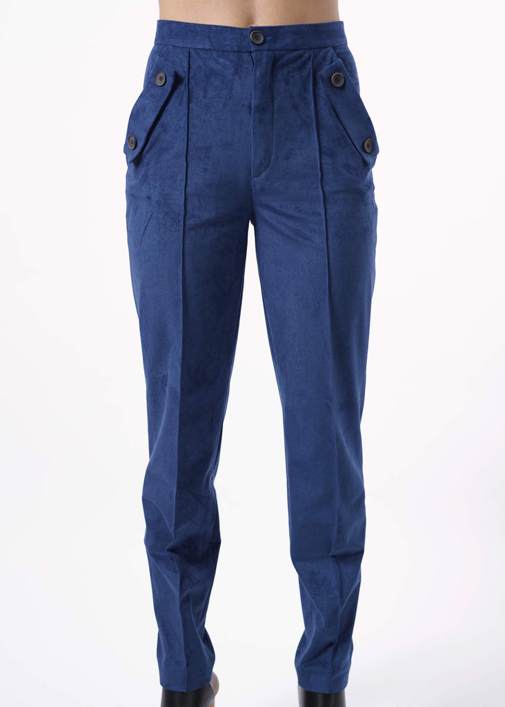 Tailored High Waist Trousers