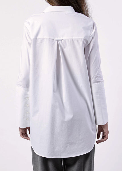 Fideli Shirt in Optical White