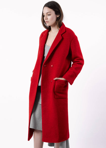 Cherry Red Coat