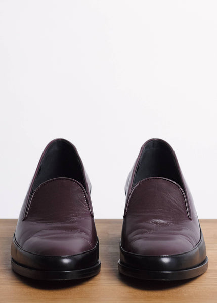 Time Loafer in Burgundy