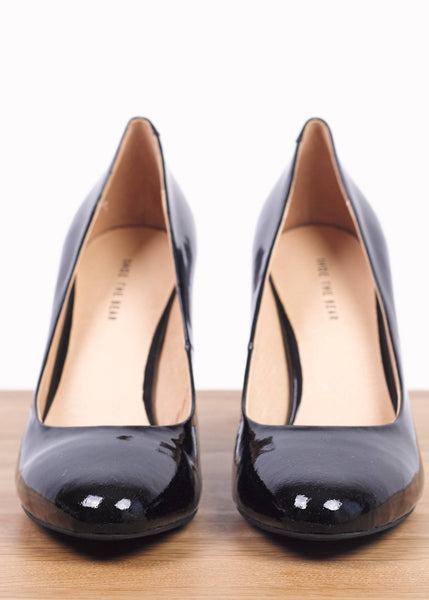 Kate Black Suede Pump