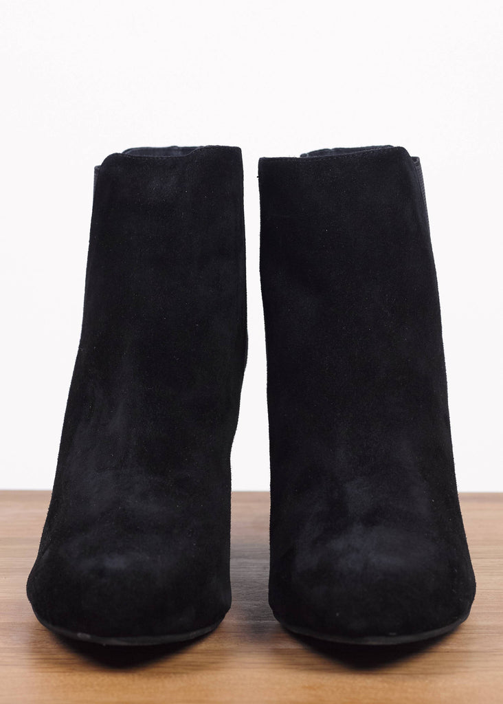 Hannah Ankle Boot Black Suede
