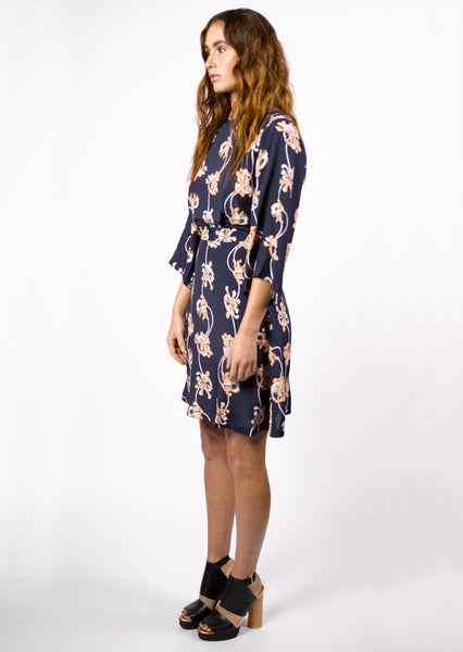 Lina Wrap Dress