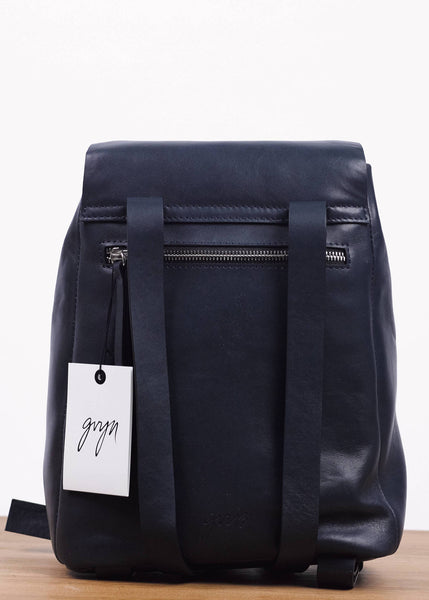 Cole Leather Baby Backpack