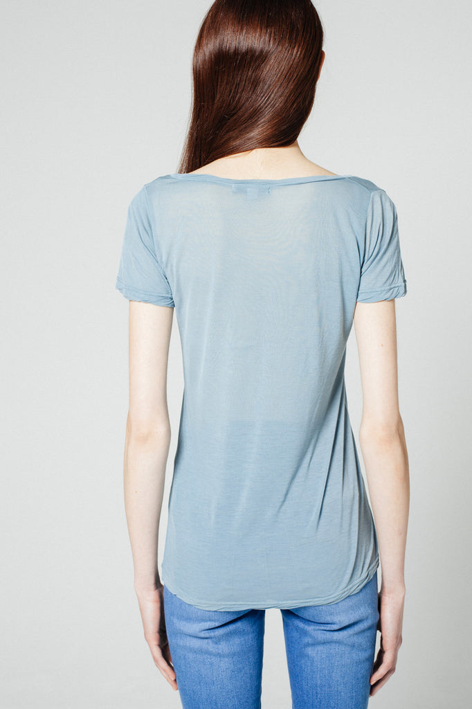 Oxford Tee Amalfi Blue