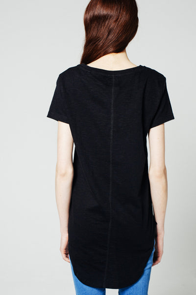 Heavy Slub Tee Black