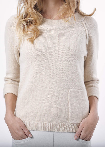 Feathers Knit Sweater