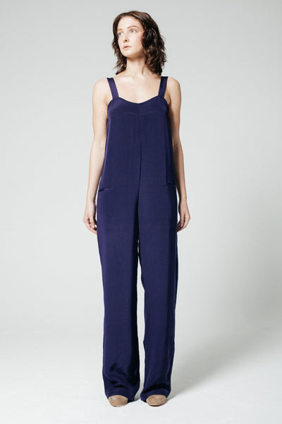 Man Repeller Jumpsuit Navy
