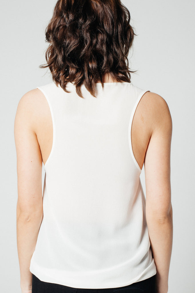 Syd Top Off-White