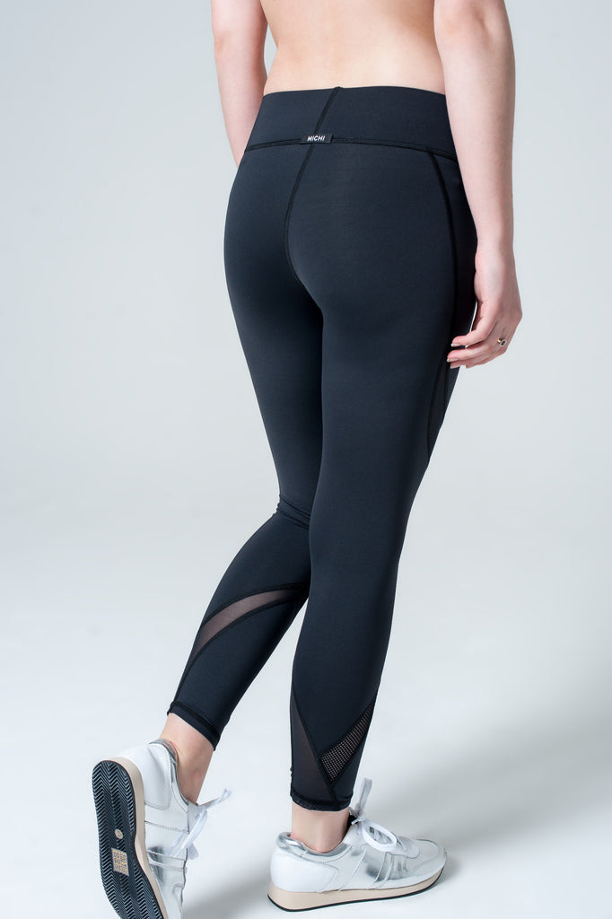 Hydra Crop Legging Black