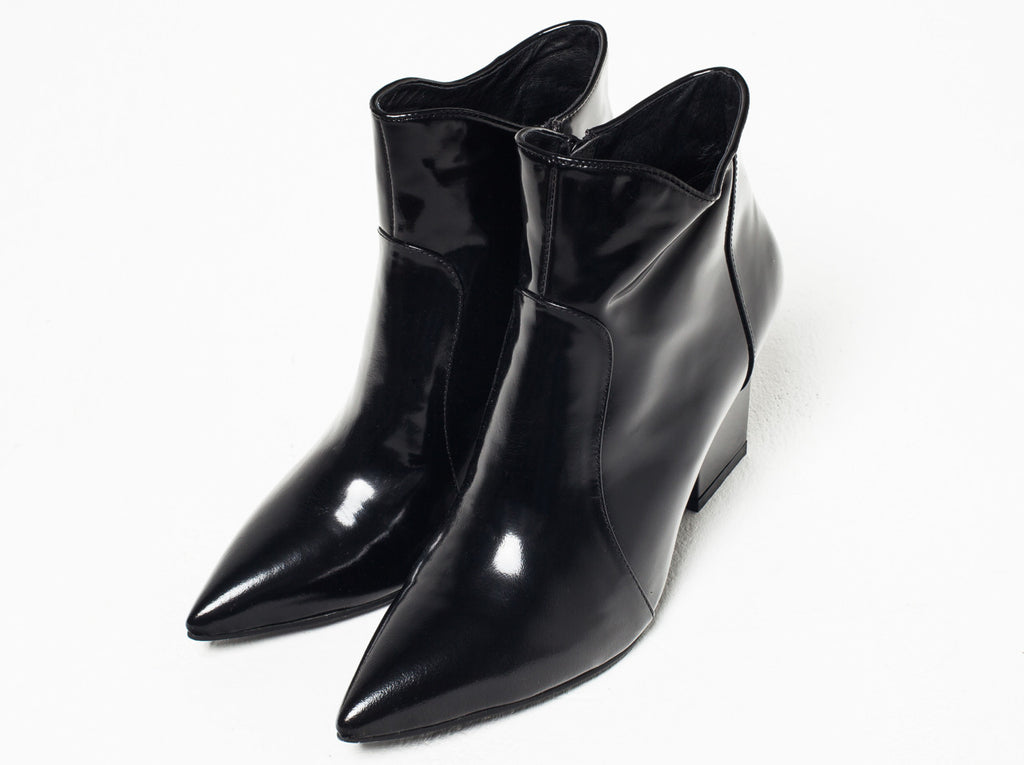 Alice Leather Ankle Boot