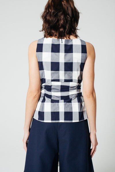 Toshima Gingham Top