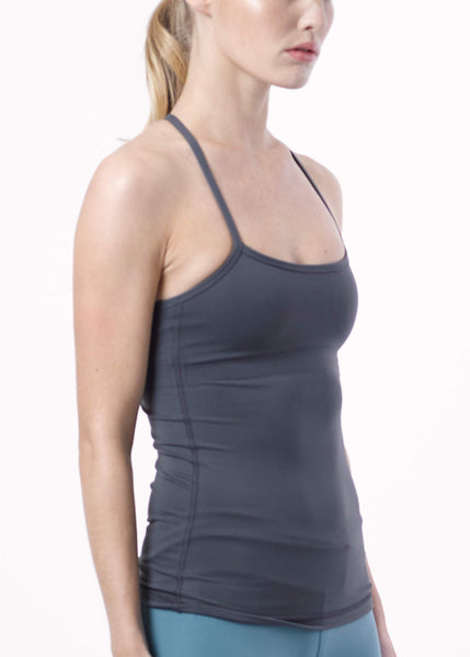 Nellipot Tank Slate Grey
