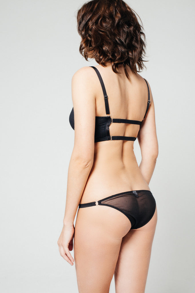 Sheer Brief Black