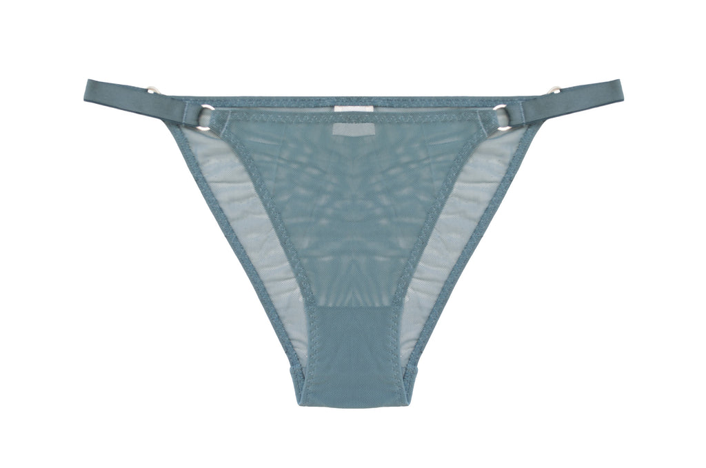 Sheer Brief Turquoise