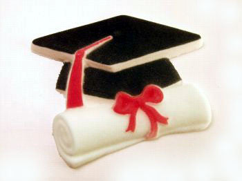 Graduation Hat and Diploma, Large