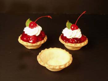 French Tartlet Shells, Sweet - 2½""