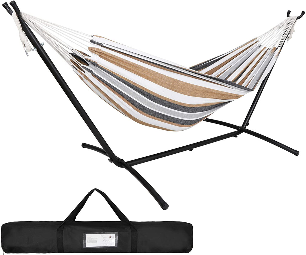 SUPER DEAL Portable 10 Person Brazilian Hammock with 10FT Metal ...