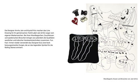 'Line Art - The Perfect Curve' at Ambiente the Blog features Jain&Kriz