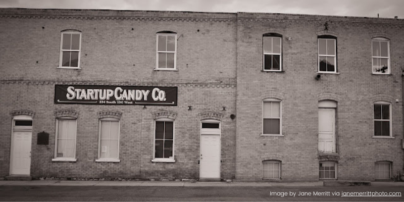 Startup Candy Company factory in Provo, Utah