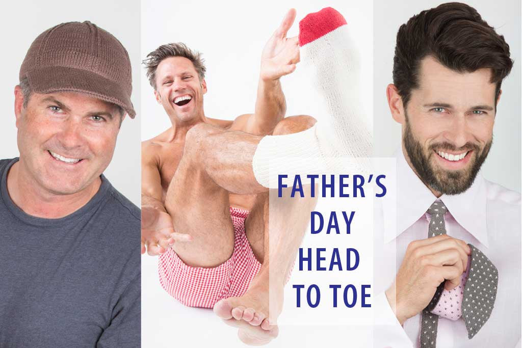 Father's Day Gifts Head to Toe - 20% Off