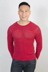 Doug Eyelet Sweater PATTERN (Downloadable)