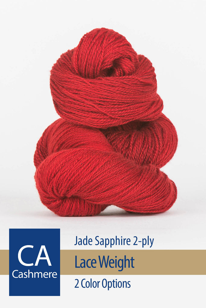 Jade Sapphire Yarn – 2 color options