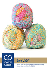 Zauberball Crazy Cotton from Schoppel – 6 color options