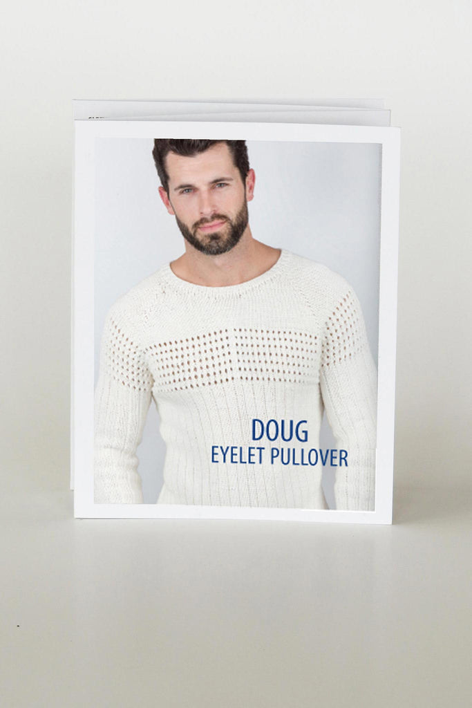 Doug Eyelet Sweater PATTERN
