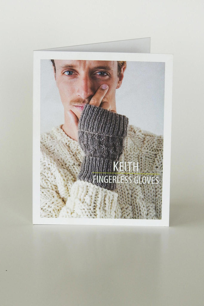 Keith Fingerless Gloves PATTERN