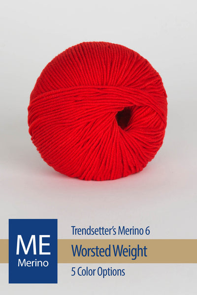 Merino VI Yarn from Trendsetter – 9 color options