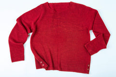 Kurt Cashmere Pullover sweater in Seeing Red – James Cox Knits