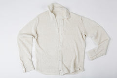 Robert Linen Dress Shirt in White – James Cox Knits