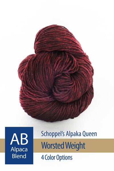 Alpaka Queen from Schoppel – 4 color options