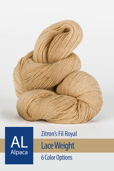 Fil Royal Yarn from Zitron – 4 color options